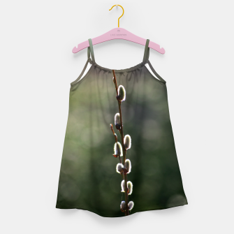 Thumbnail image of Pussy willow Girl's dress, Live Heroes