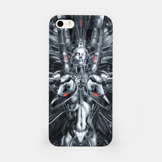 Miniatur Maiden In The Machine iPhone Case, Live Heroes