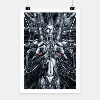 Thumbnail image of Maiden In The Machine Poster, Live Heroes