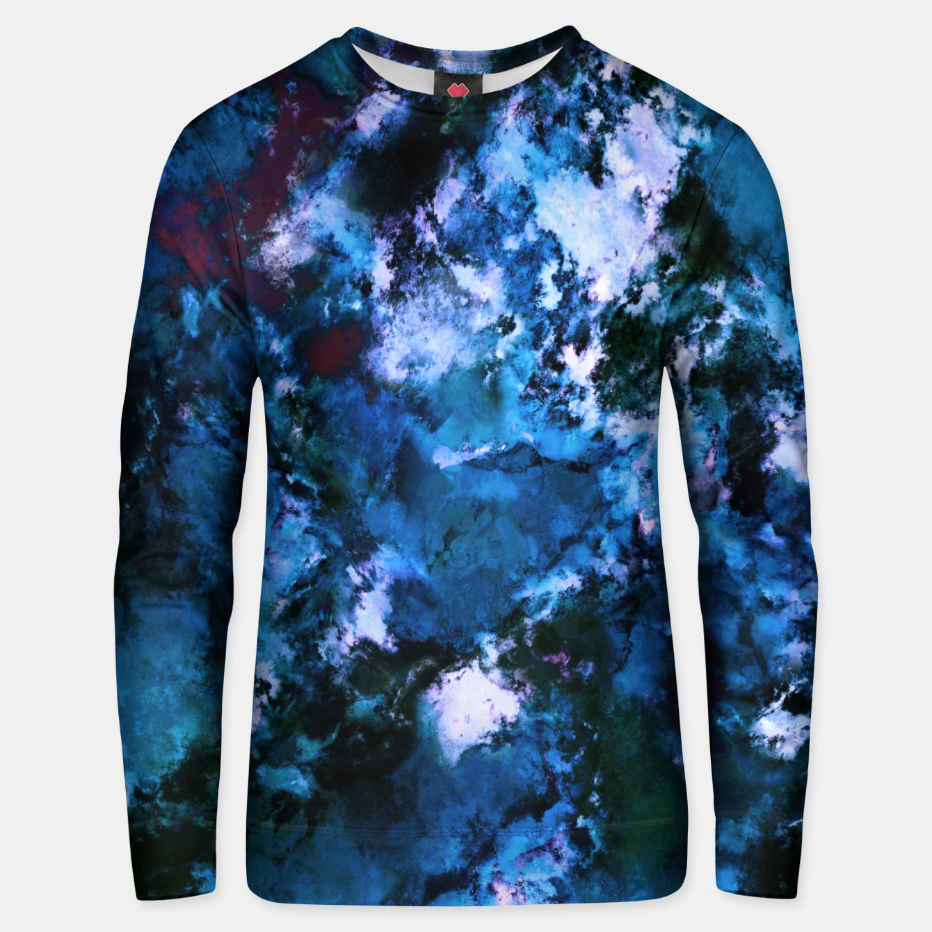 Image of Smouldering blue Unisex sweater - Live Heroes