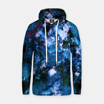 Thumbnail image of Smouldering blue Hoodie, Live Heroes