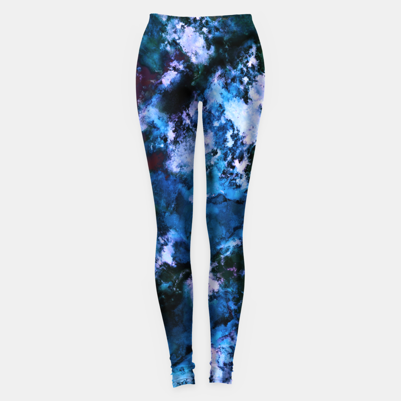 Image of Smouldering blue Leggings - Live Heroes