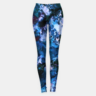 Thumbnail image of Smouldering blue Leggings, Live Heroes