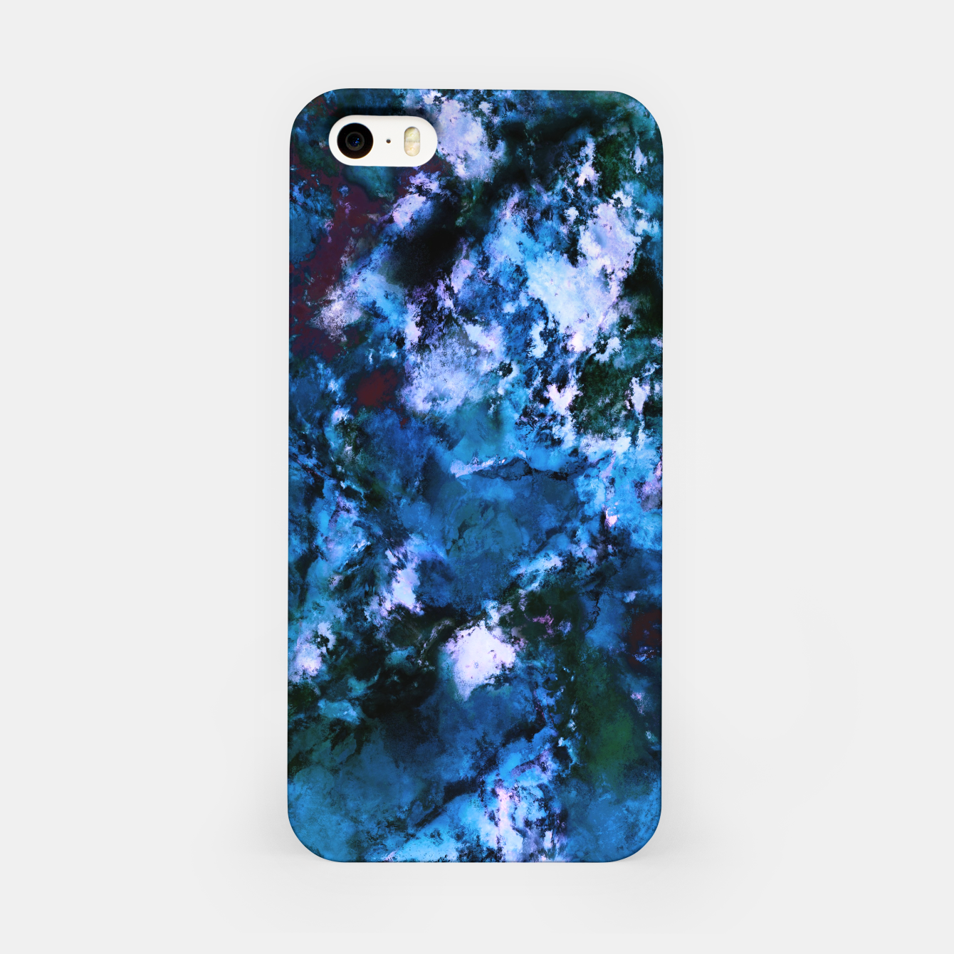 Image of Smouldering blue iPhone Case - Live Heroes