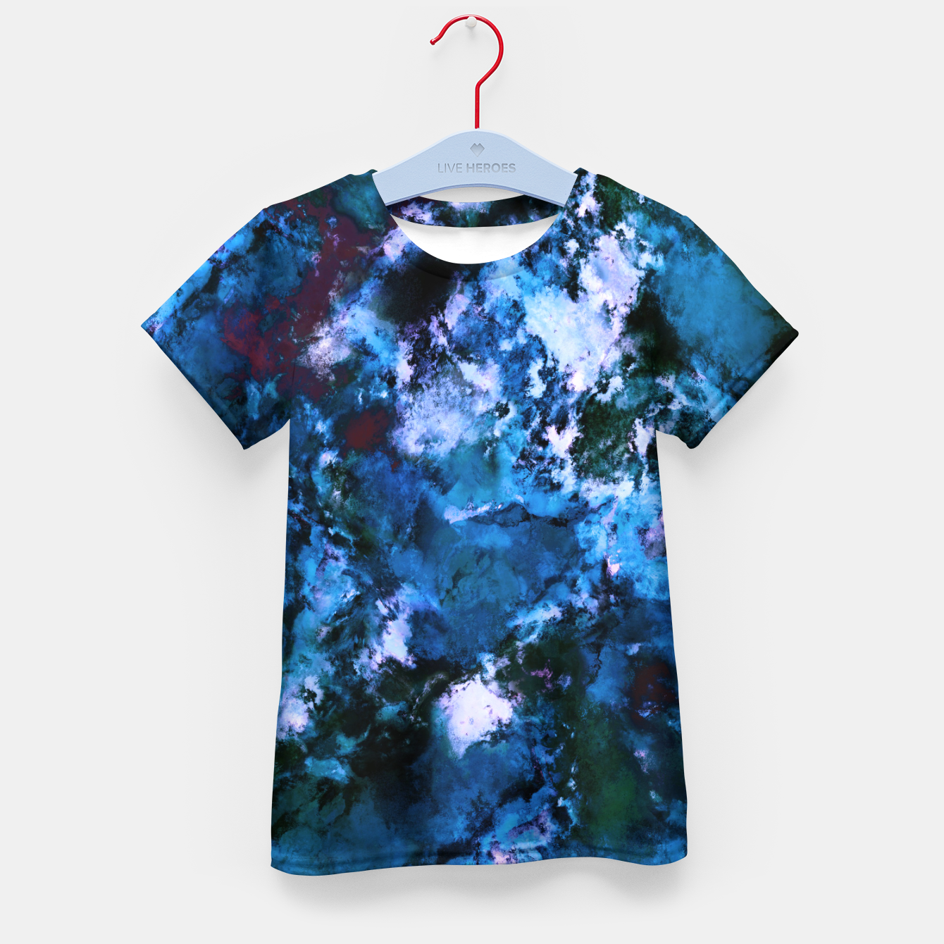 Image of Smouldering blue Kid's t-shirt - Live Heroes