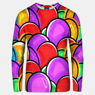 Thumbnail image of Easter Eggs Unisex sweater, Live Heroes