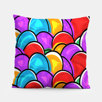 Thumbnail image of Easter Eggs Pillow, Live Heroes