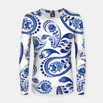 Thumbnail image of  Патриотичный2 Women sweater, Live Heroes