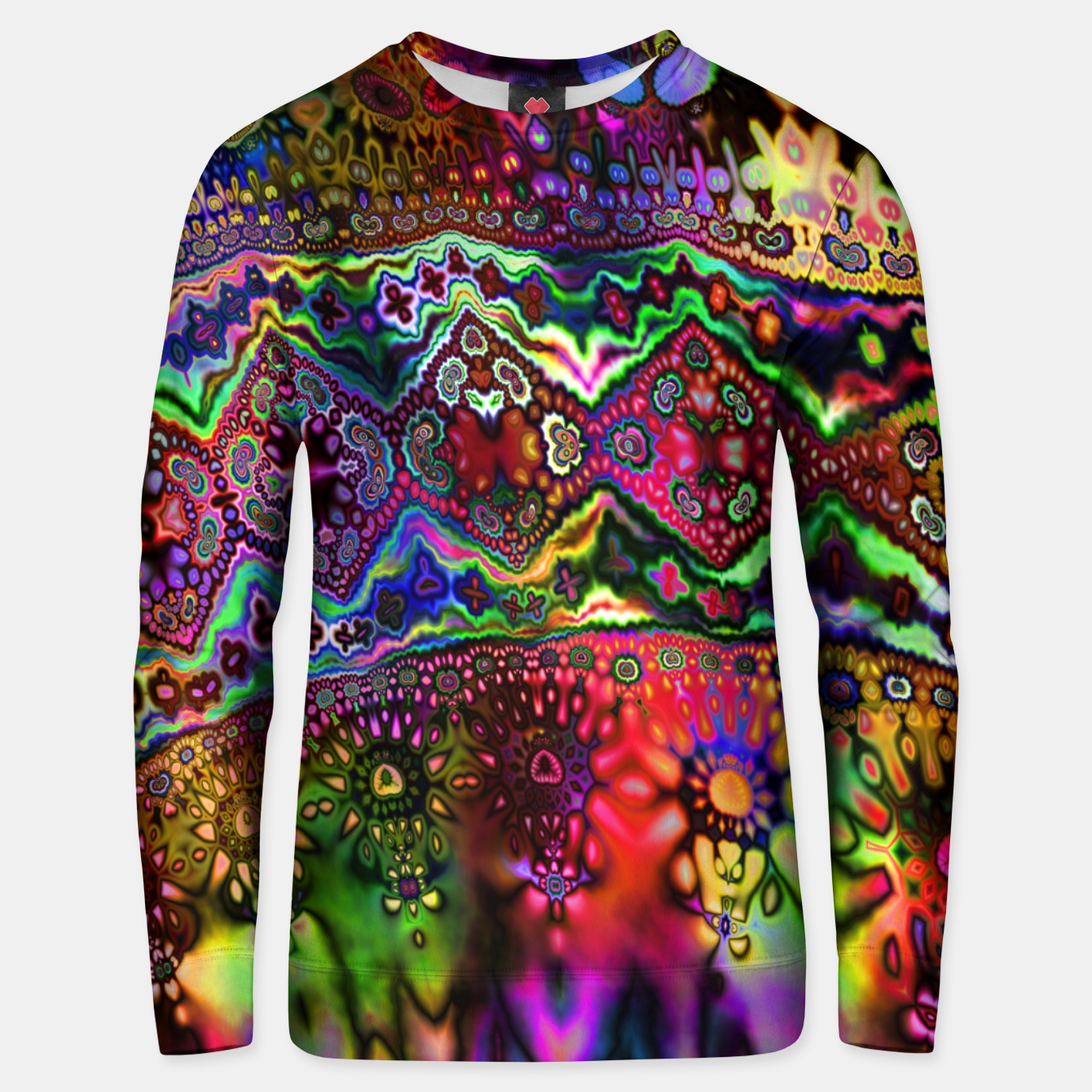 Foto Rainbow Tapestry Unisex sweater - Live Heroes