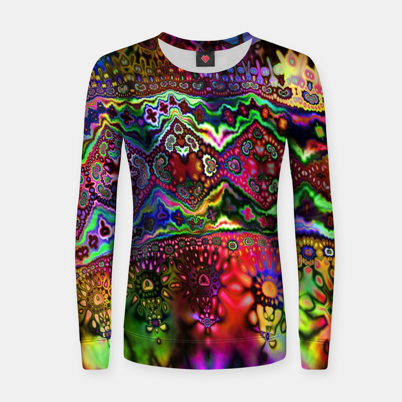 Image of Rainbow Tapestry Women sweater - Live Heroes
