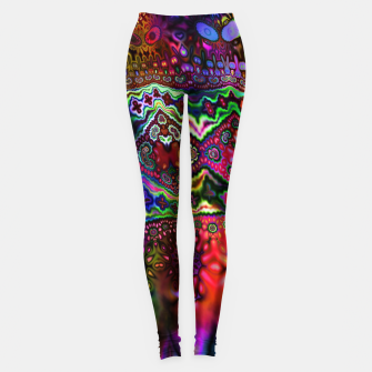 Thumbnail image of Rainbow Tapestry Leggings, Live Heroes