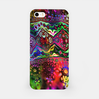Miniatur Rainbow Tapestry iPhone Case, Live Heroes