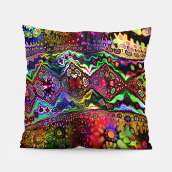 Rainbow Tapestry Pillow Bild der Miniatur