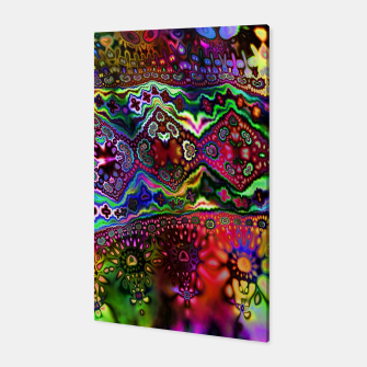 Thumbnail image of Rainbow Tapestry Canvas, Live Heroes