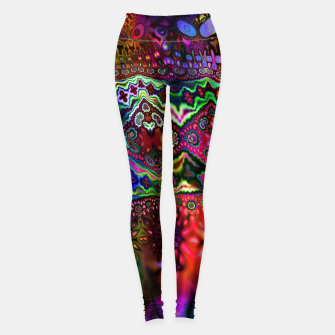 Rainbow Tapestry Leggings Bild der Miniatur