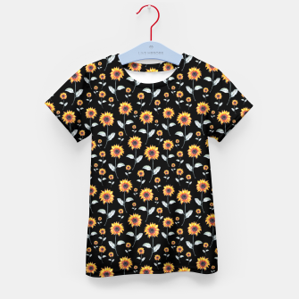 Thumbnail image of Sunflowers Kid's t-shirt, Live Heroes