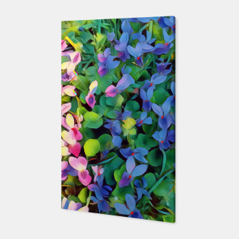 Thumbnail image of violets Canvas, Live Heroes