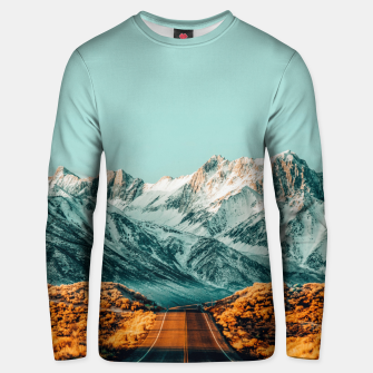 Thumbnail image of The Road Less Traveled Unisex sweater, Live Heroes
