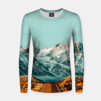 Thumbnail image of The Road Less Traveled Women sweater, Live Heroes