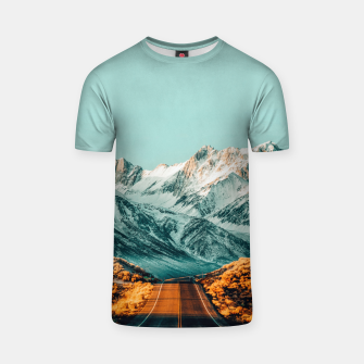 Thumbnail image of The Road Less Traveled T-shirt, Live Heroes