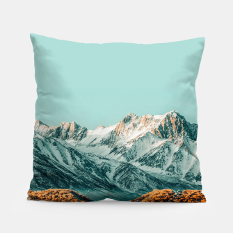 Thumbnail image of The Road Less Traveled Pillow, Live Heroes