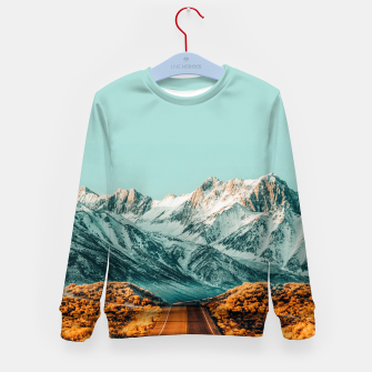 Thumbnail image of The Road Less Traveled Kid's sweater, Live Heroes