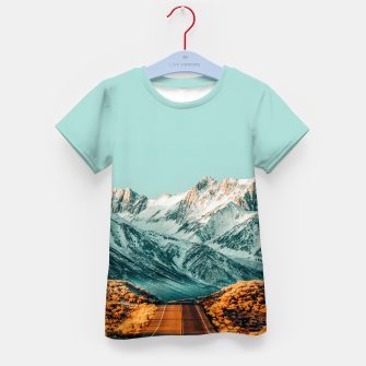 Thumbnail image of The Road Less Traveled Kid's t-shirt, Live Heroes