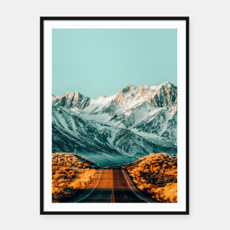 Thumbnail image of The Road Less Traveled Framed poster, Live Heroes