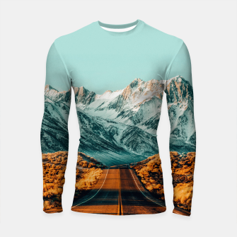 Thumbnail image of The Road Less Traveled Longsleeve rashguard , Live Heroes