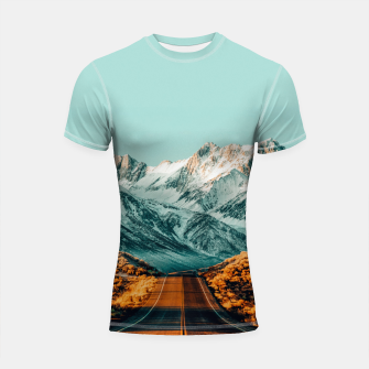 Thumbnail image of The Road Less Traveled Shortsleeve rashguard, Live Heroes