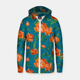 Thumbnail image of Rosalie Zip up hoodie, Live Heroes