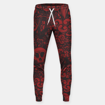 Red Doodle Sweatpants thumbnail image