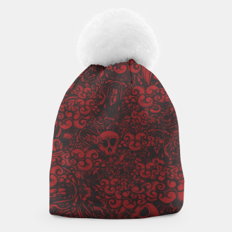 Red Doodle Beanie thumbnail image