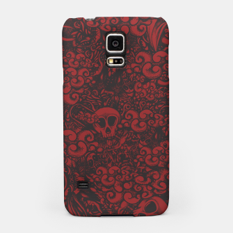 Red Doodle Samsung Case thumbnail image