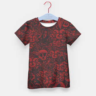 Red Doodle Kid's t-shirt thumbnail image