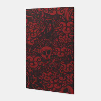 Red Doodle Canvas thumbnail image