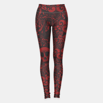 Red Doodle Leggings thumbnail image
