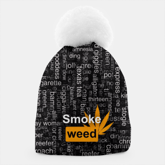 Thumbnail image of Smoke weed Beanie, Live Heroes