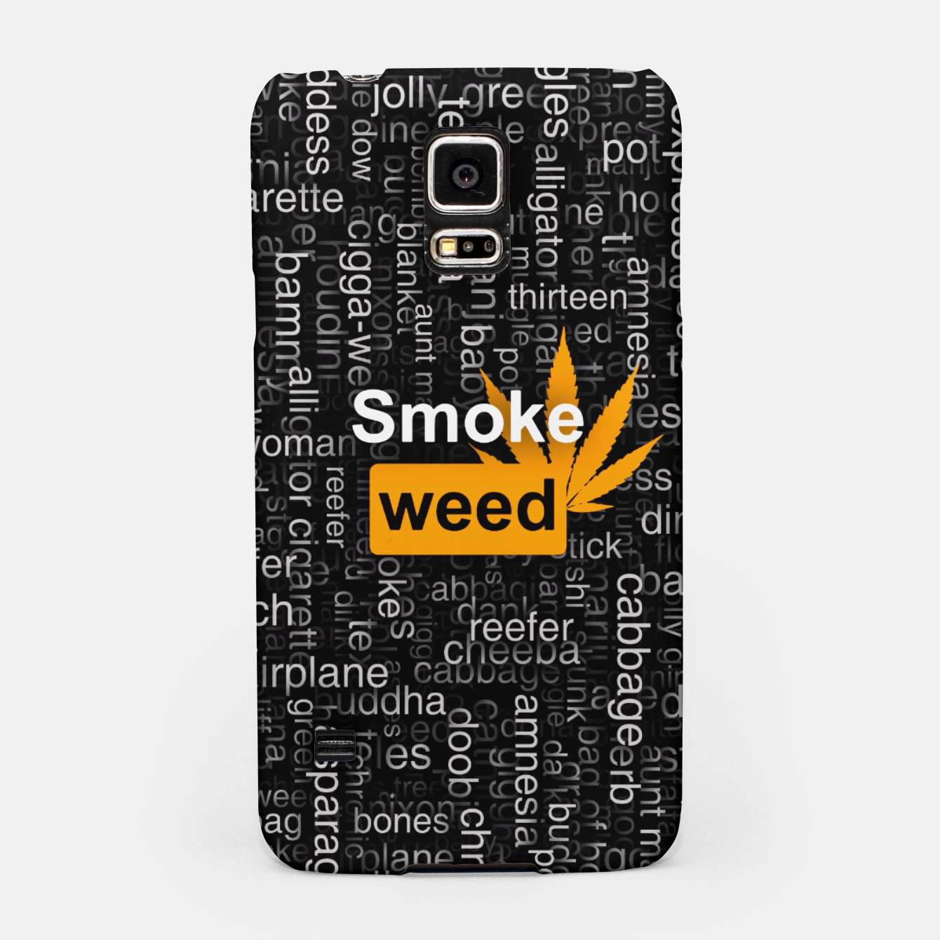 Image of Smoke weed Samsung Case - Live Heroes