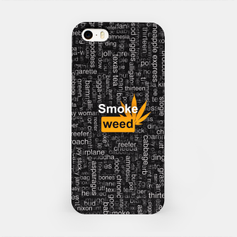 Smoke weed iPhone Case thumbnail image
