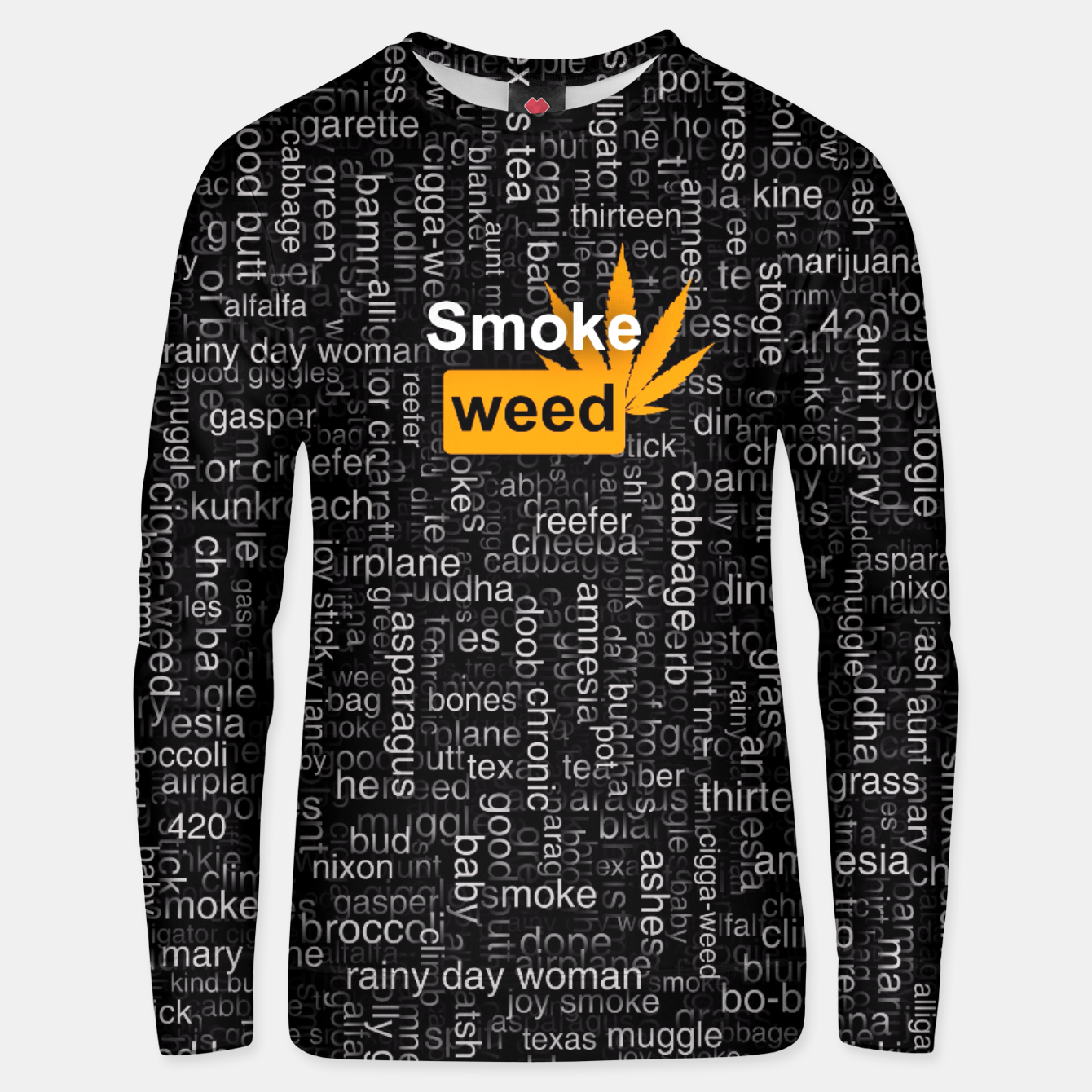 Image of Smoke weed Unisex sweater - Live Heroes