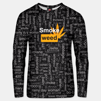 Thumbnail image of Smoke weed Unisex sweater, Live Heroes