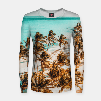 Thumbnail image of Beach Life Women sweater, Live Heroes