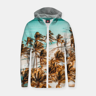 Thumbnail image of Beach Life Zip up hoodie, Live Heroes