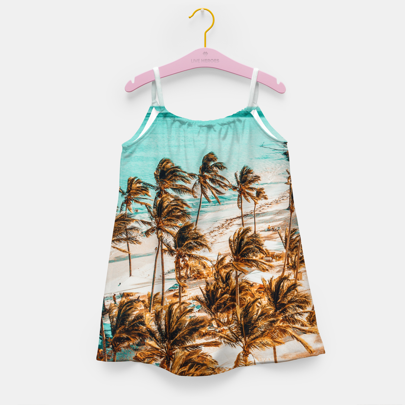Image of Beach Life Girl's dress - Live Heroes