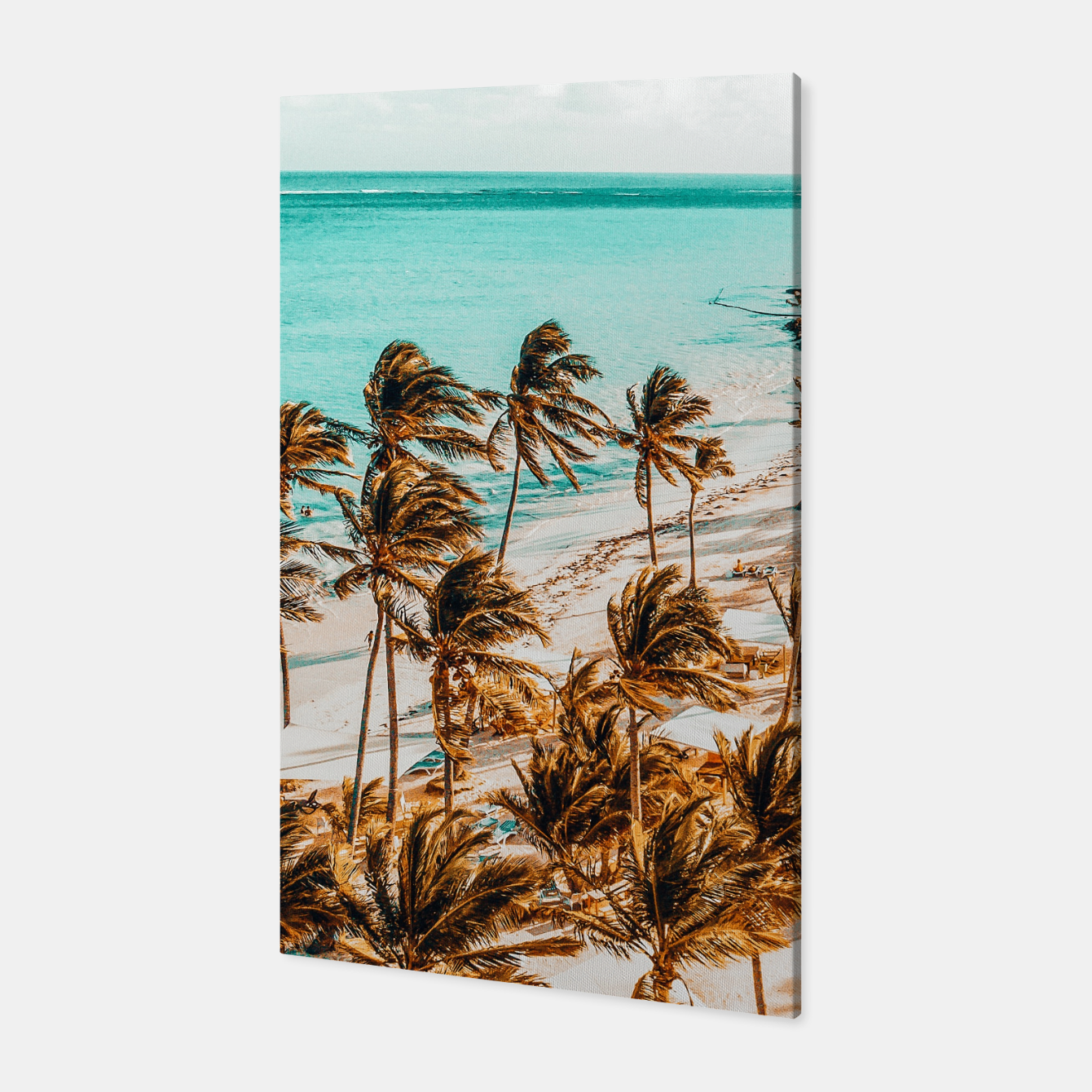 Image of Beach Life Canvas - Live Heroes