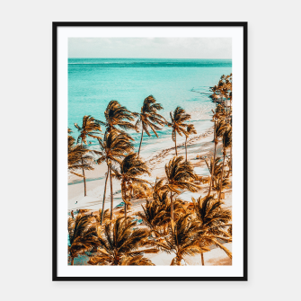 Miniatur Beach Life Framed poster, Live Heroes