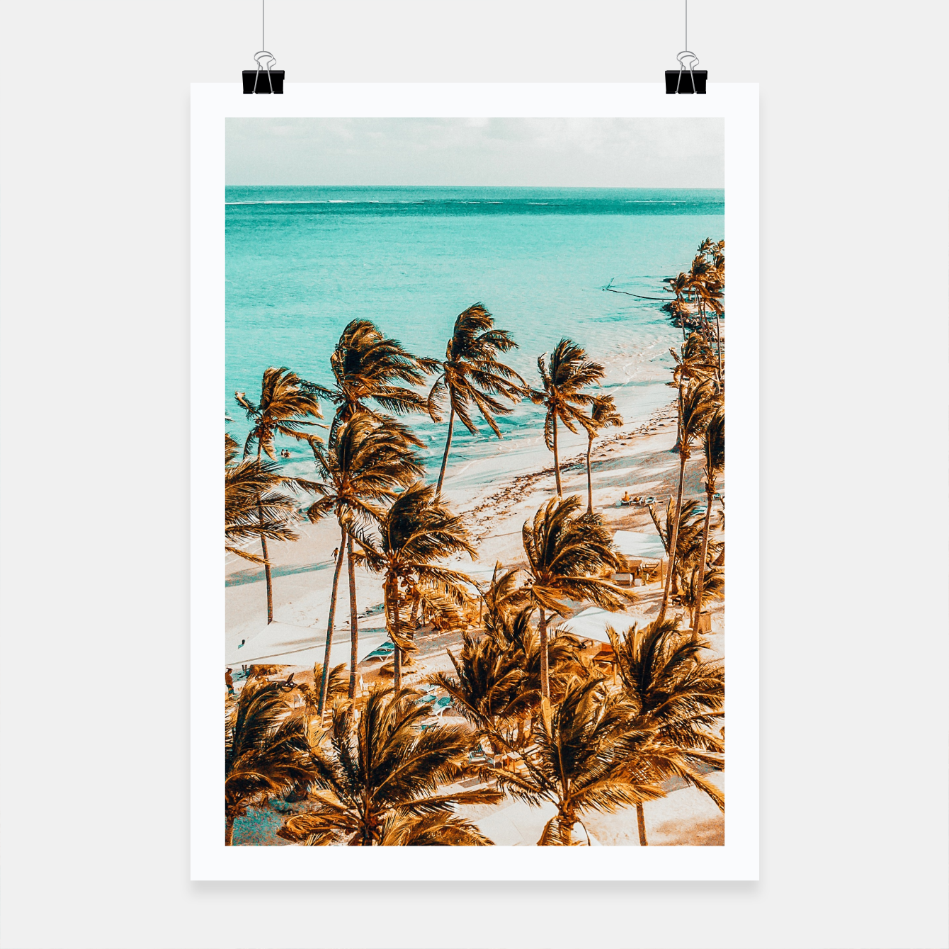 Image of Beach Life Poster - Live Heroes