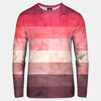 Thumbnail image of Watercolor landscape Unisex sweater, Live Heroes