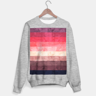 Imagen en miniatura de Watercolor landscape Sweater regular, Live Heroes